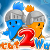 Twin Cat Warrior 2 Level online game
